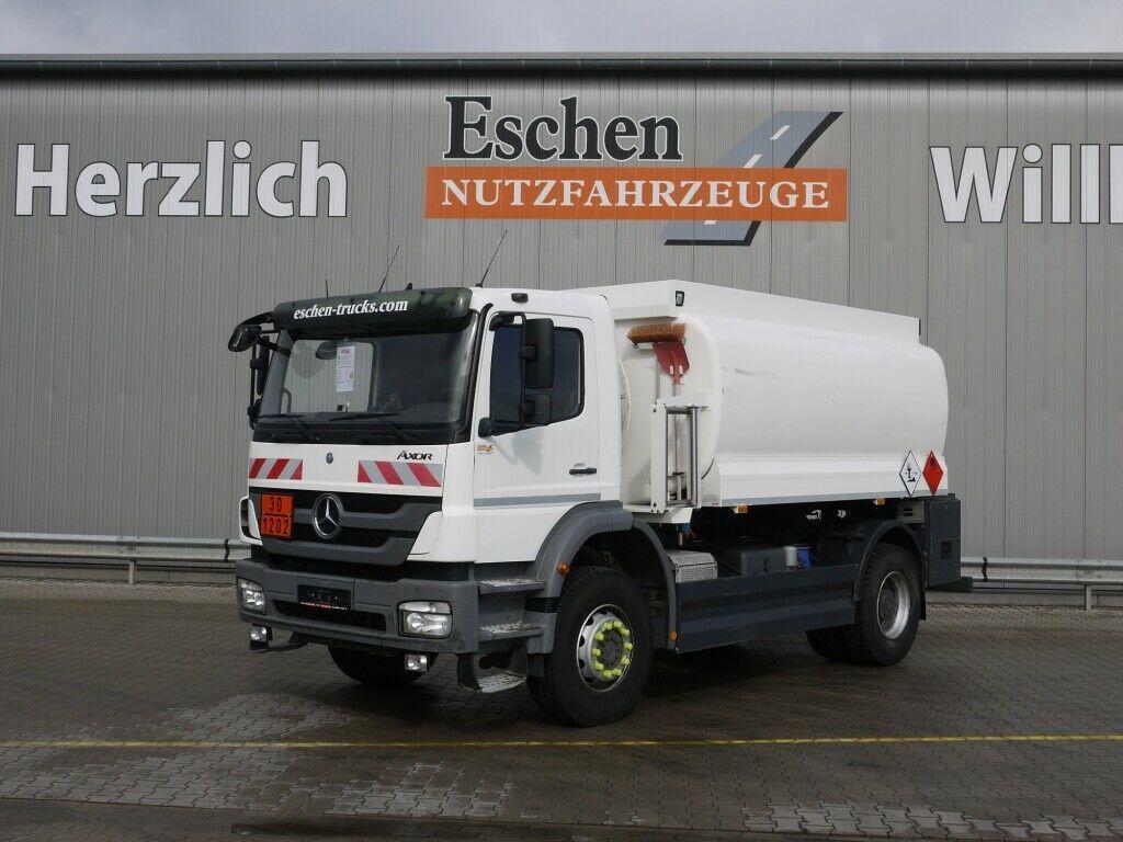 Tank LKW Mercedes-Benz 1829 Axor 4x2 Lindner & Fischer A3*Steel*Manual