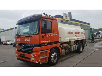 Tank LKW Mercedes-Benz Actros 1843 L A3 Tankwagen Heizöl Diesel DPF