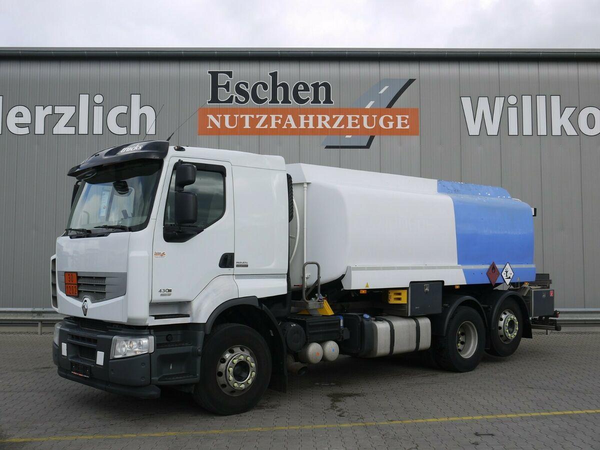 Tank LKW Renault 430 DXI 6x2 Premium Lander A3*3Kammer*Oben/Unten