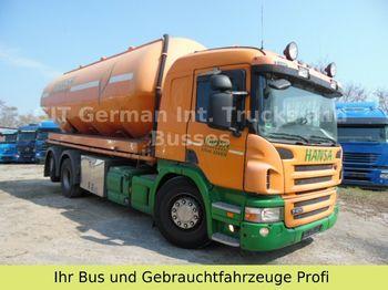 Tank LKW Scania 26.400 Silo mit 4 Kammer 30cbm,aufbau Feldbinder
