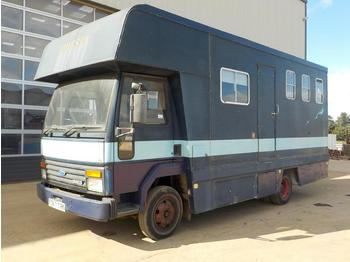 1988 Ford Iveco 4x2 Horse Box, Living Area (Reg. Docs. & Plating Certificate Available) - Tiertransporter LKW