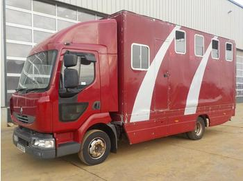 2006 Renault 4x2 Horse Box (Reg. Docs. Available) - Tiertransporter LKW