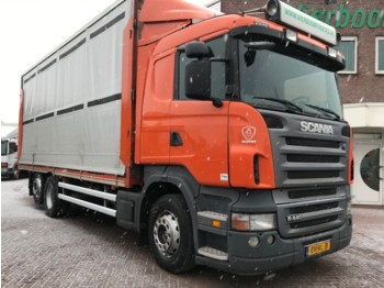Scania R440 6X2 POULTRYTRANSPORT HOLLAND TRUCK EURO5 - Tiertransporter LKW