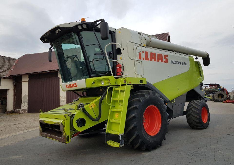 Mähdrescher Claas Lexion 550
