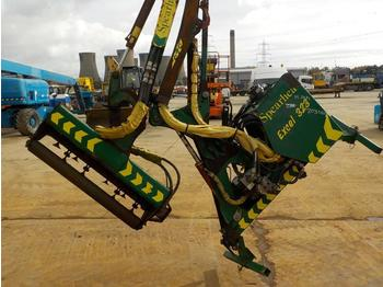 2007 Spearhead PTO Driven Hydraulic Flail Arm to suit 3 Point Linkage - Mulcher