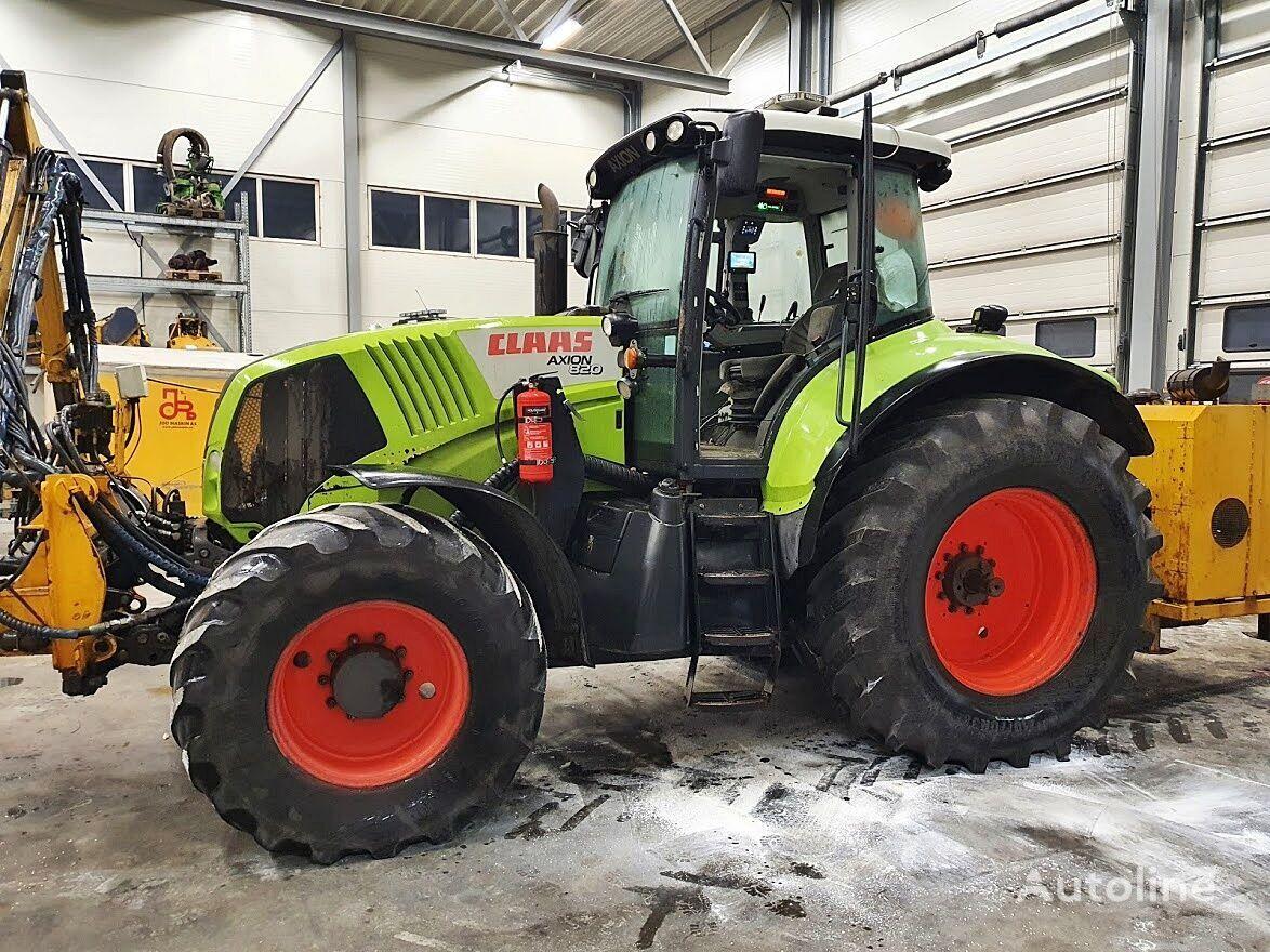 Radtraktor CLAAS Axion 820 *4x4*9000h*2009*
