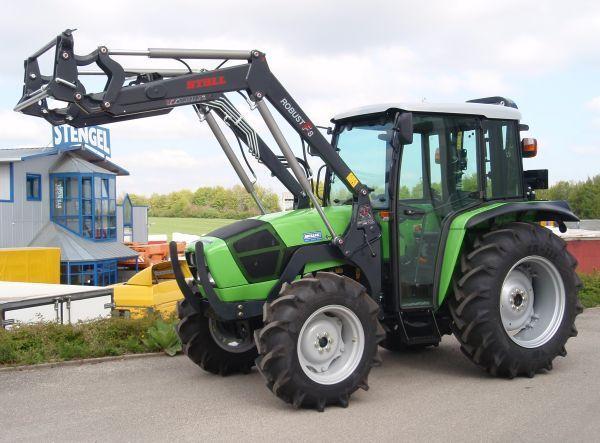 Neuer radtraktor deutz fahr agrolux allrad frontlader zum