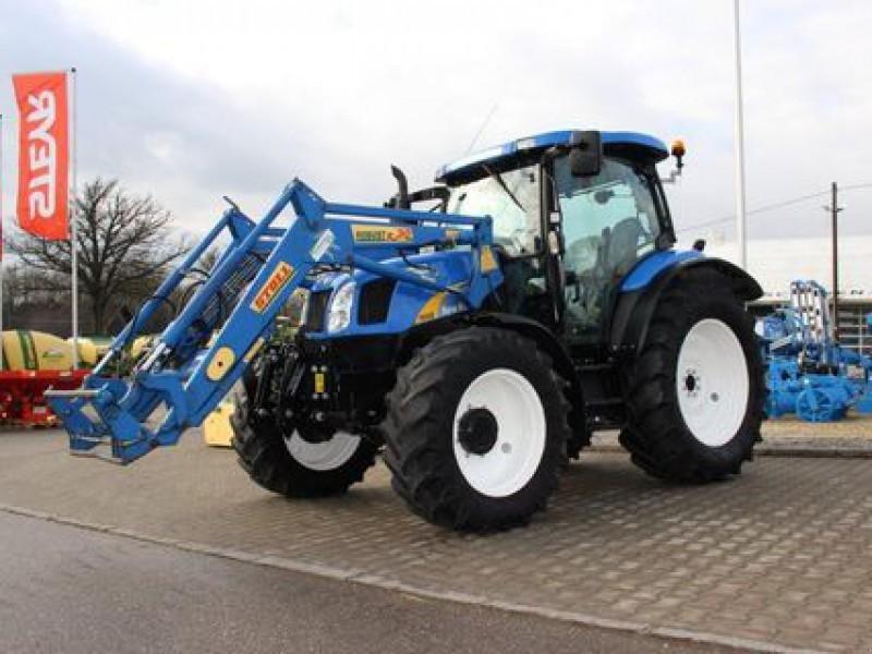 New holland ts a mit frontlader und fronthubwerk radtraktor