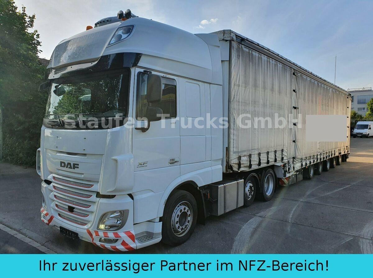 Sattelzugmaschine DAF 106 510 SSC MEGA ZUG Schwerlast 8 Achsen DINKEL