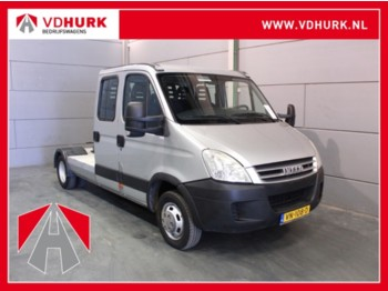 Sattelzugmaschine Iveco Daily 35C18 177 pk DC Dubbel Cabine 7.0 T BE Trekker Luchtvering/Airco