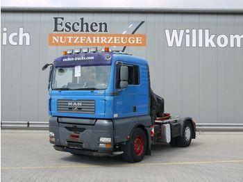 Sattelzugmaschine MAN TGA 18.430 4x2 LLS, Hiab 220 C4 Kran