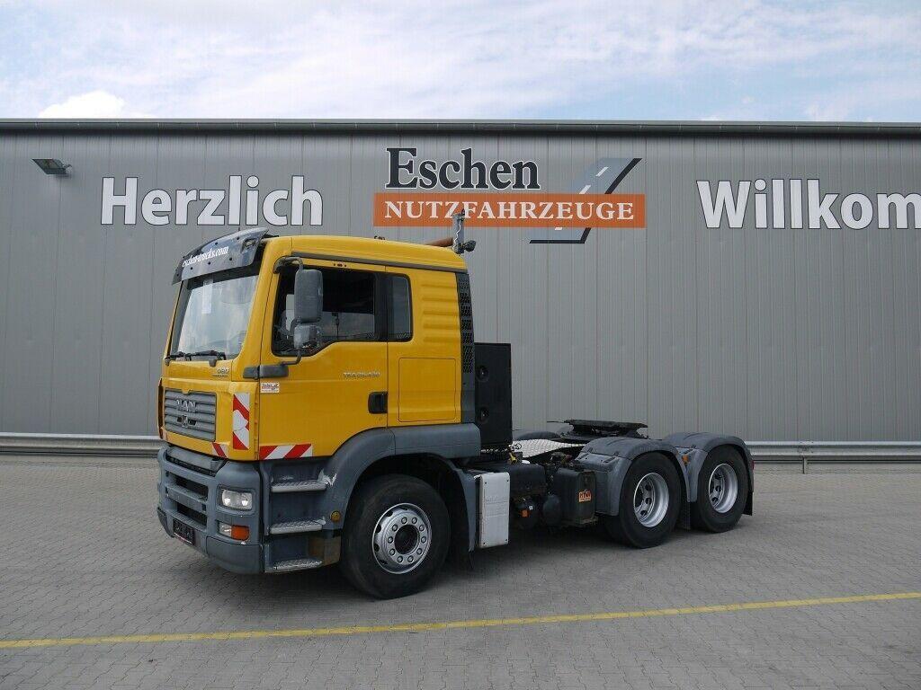 Sattelzugmaschine MAN TGA 26.430 6x4 BLS, 6x4, Schalter, Kipphydr.
