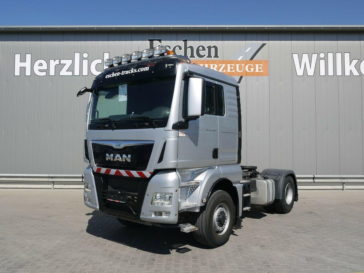 Sattelzugmaschine MAN TGX 18.440 4x4 H BLS*Kipphydr.*1.Hand*Klima*EU6