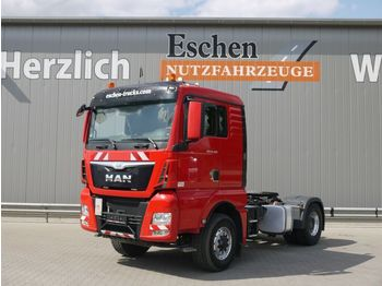 """Sattelzugmaschine MAN TGX 18.480 4x4 H BLS """"L"""" Haus, Kipphydraulik"""