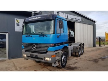 Sattelzugmaschine Mercedes Benz ACTROS 3340 AS 6X6 tractor unit - SPRING