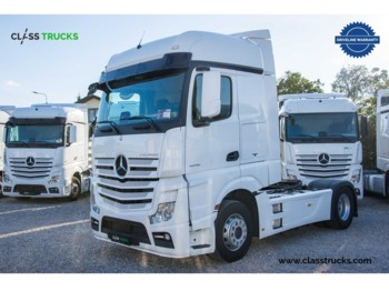 Sattelzugmaschine Mercedes-Benz Actros 1848 LS 4x2 BigSpace RETARDER, Side skirts PC