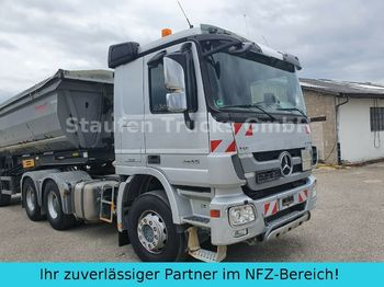 Sattelzugmaschine Mercedes-Benz Actros 2655 K  6x4 V8 MP3 Klima Intarder EURO 5