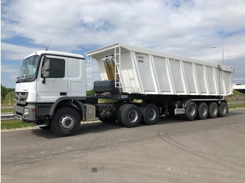Sattelzugmaschine Mercedes-Benz Actros 3340S 6x4 + 60 CBM Tipper trailer (20x available)