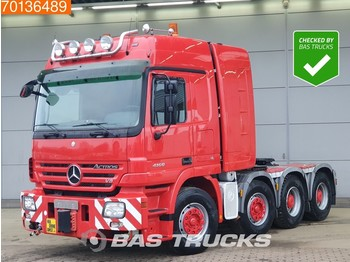 Mercedes-Benz Actros 4160 S 8X4 500T Manual Push+Pull WSK Hydraulic Euro 3 - Sattelzugmaschine