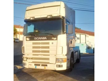SCANIA 124L 470 with 420 HP engine left hand drive Retarder - Sattelzugmaschine