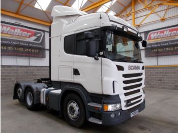 Sattelzugmaschine SCANIA R420 HIGHLINE (SCR)