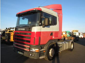 Sattelzugmaschine Scania 124L 420