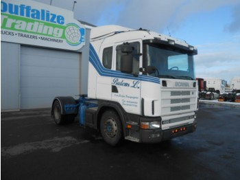 Scania 124 L 420 manual - Sattelzugmaschine