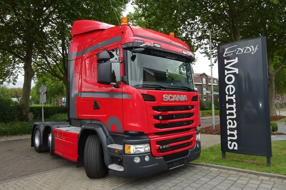 Sattelzugmaschine Scania G410 Highline-Streamline 6x2/4 Twinsteer