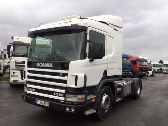 Sattelzugmaschine Scania G 114G380