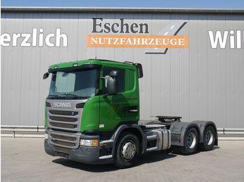Sattelzugmaschine Scania G 400, 6x4, Kipphydraulik, Manuell, Klima, EUR5