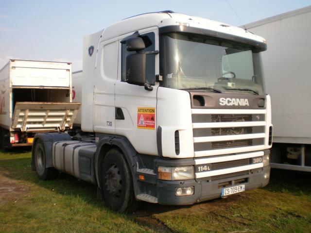 Sattelzugmaschine Scania L 114L380