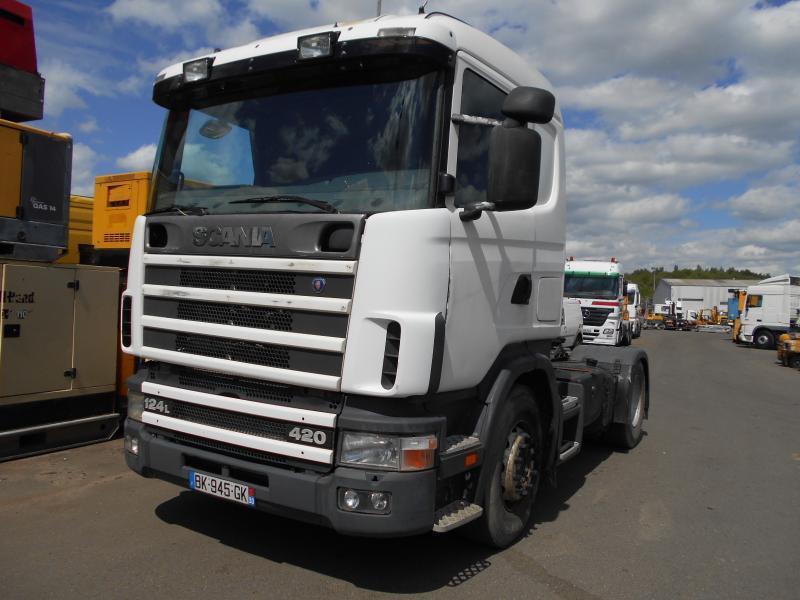 Sattelzugmaschine Scania L 124L420