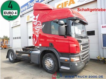 Scania P 340 Special tractor unit for car transporter - Sattelzugmaschine