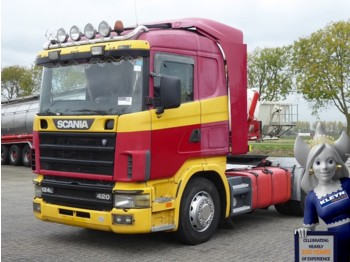 Scania R124.400 CR19 MANUAL - Sattelzugmaschine