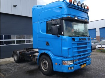 Scania R124 420 Manual Retarder - Sattelzugmaschine