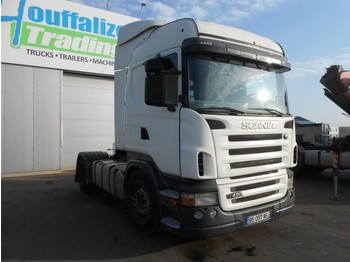Sattelzugmaschine Scania R420 - manual - retarder