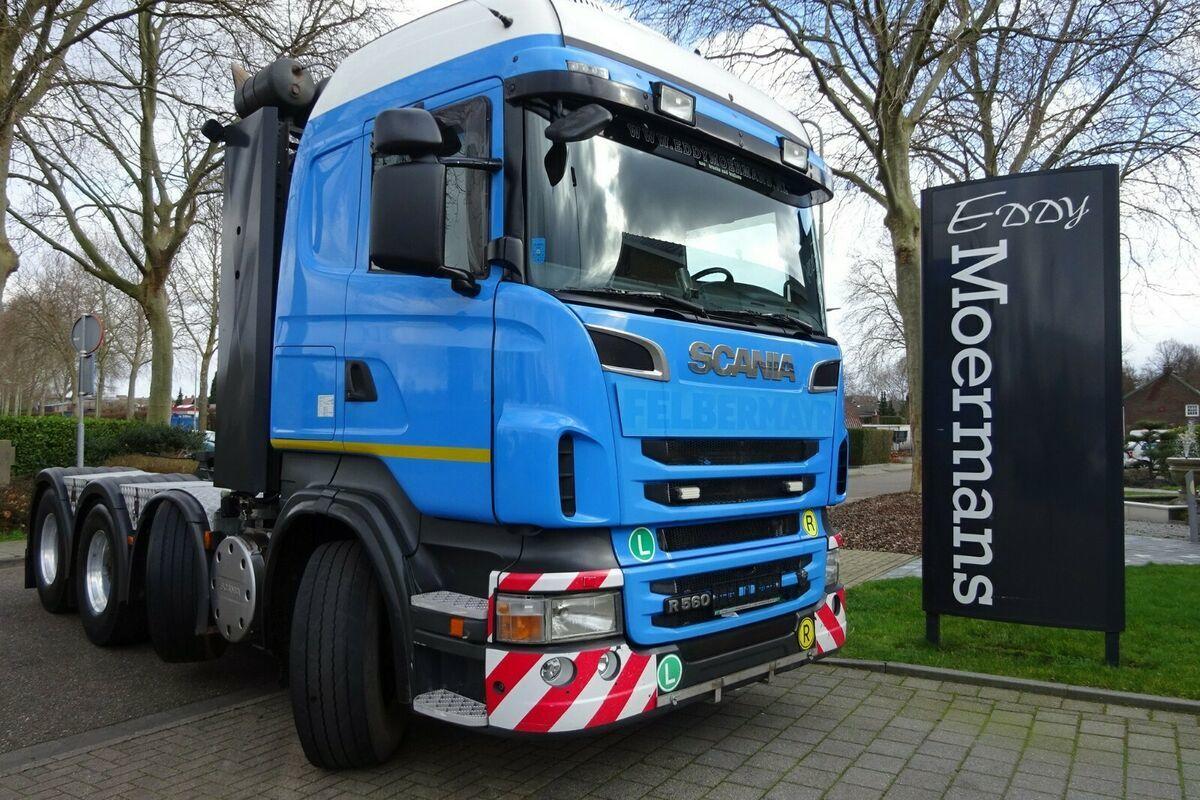 Sattelzugmaschine Scania R560 Highline 8x4 150 Tonnen !!!