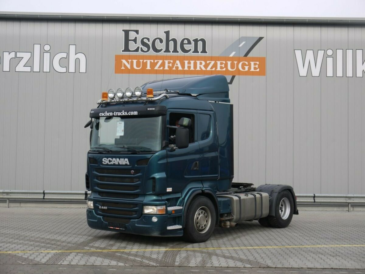 Sattelzugmaschine Scania R 440 4x2, Klima, Standhzg., Kipphydr.
