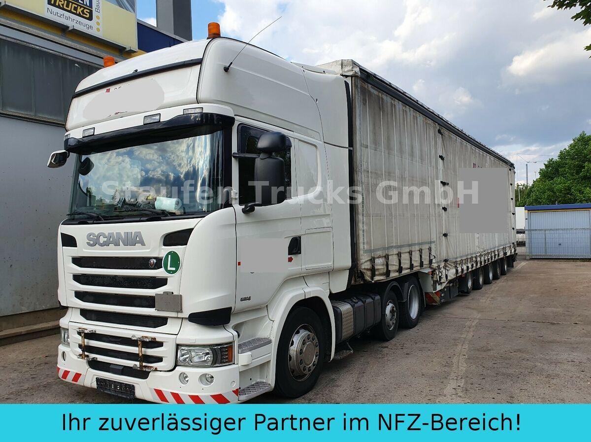 Sattelzugmaschine Scania R 490 6X2  DINKEL 5-Achs Maschin/Schwerlast ZUG!