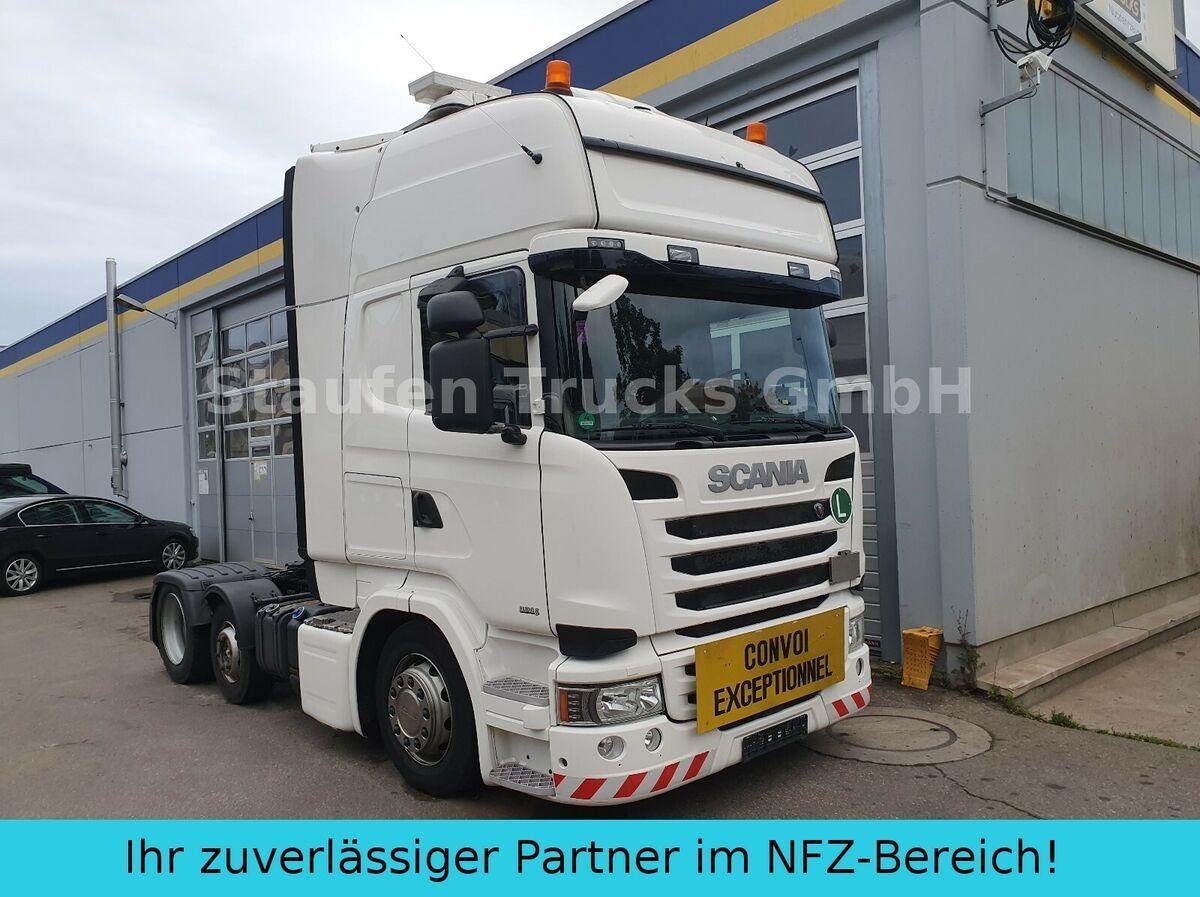 Sattelzugmaschine Scania R 490 Topline 6X2 Vorlaufa. LOW EURO 6 Schwerlas
