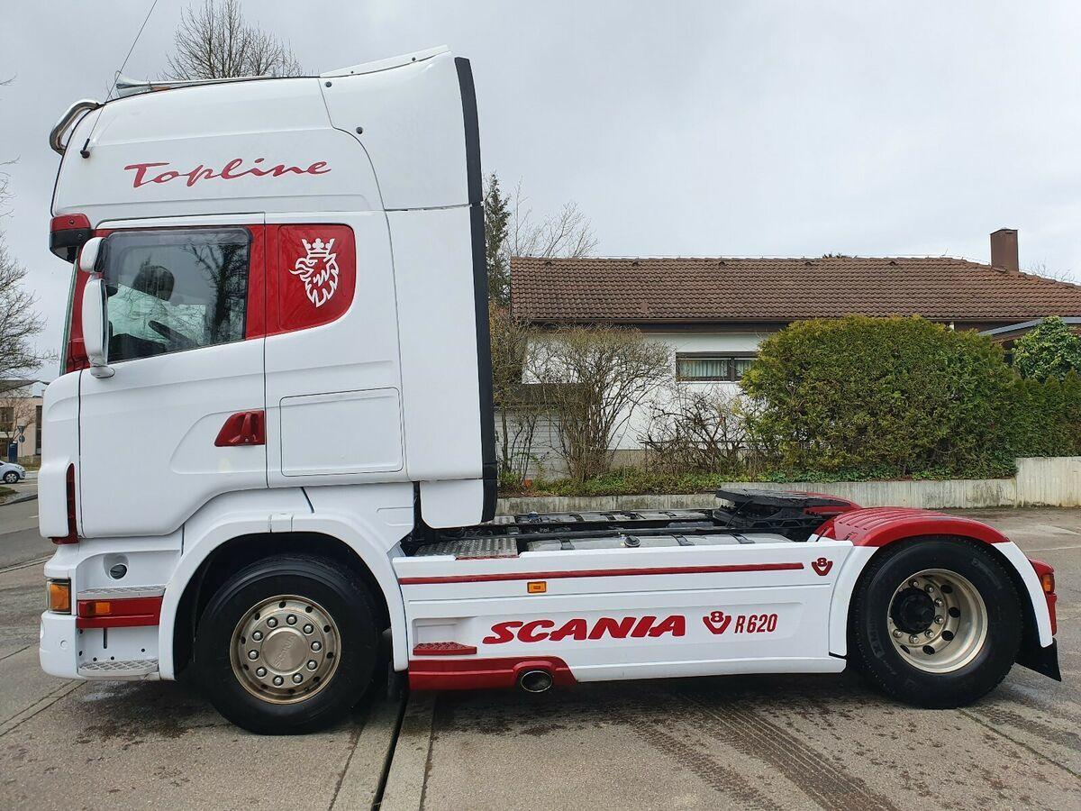 Sattelzugmaschine Scania R 620 Topline PORSCHE EDITION Motor Kupplung NEU