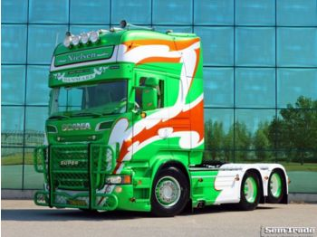 Scania SCANIA R560 6X2 FULL AIR RETARDER PTO SUPER SPECIAL SHOW TRUCK - Sattelzugmaschine