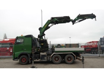 Volvo FH 480 6X4 WITH PALFINGER PK 56002 CRANE AND PJ 125 JIB 247.000KM MANUAL GEARBOX - Sattelzugmaschine