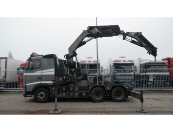 Sattelzugmaschine Volvo FH 480 6x4 WITH PALFINGER PK 56002 CRANE WITH AND PJ 125 JIB 343.000KM