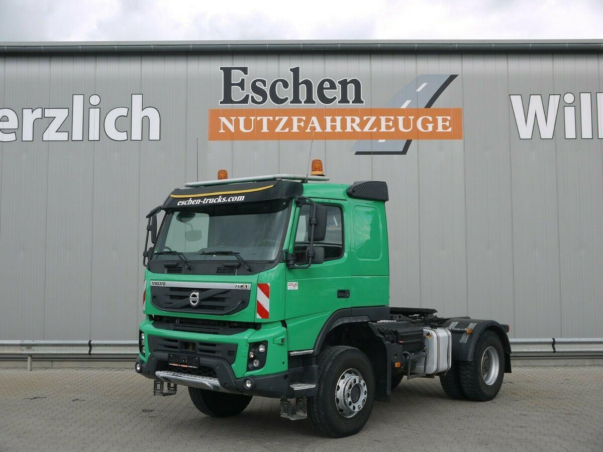 Sattelzugmaschine Volvo FMX 420 4x4,Schalter, Kipphydr, Blatt/Blatt, AP