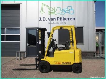 4-Rad-Frontstapler HYSTER J2.50XM 2.5t triplex 4.95m sideshift accu 91% 8327uur!