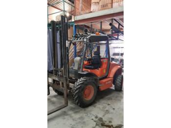 Geländestapler Ausa CH 200 4,5 mts forklift truck 4x4 triplex hyster
