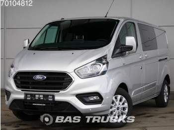 Ford Transit Custom 2.0 TDCI Navigatie Camera DC Limited L2H1 4m3 A/C Double cabin Towbar Cruise control - Transporter