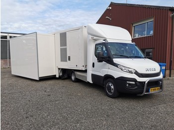 Transporter Iveco 40C21 BE Trekker + Kuiper 1-as Schuifwand / Airconditioning / 7.5kva Generator (A28)