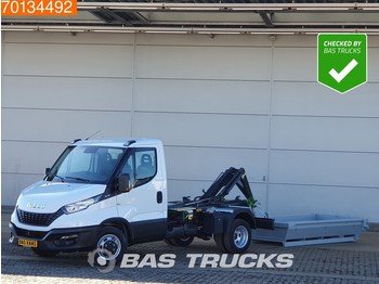 Kipper Transporter Iveco Daily 35C16 3.0 Haakarm Kipper Hooklift Abrollkipper 3Ton A/C Cruise control